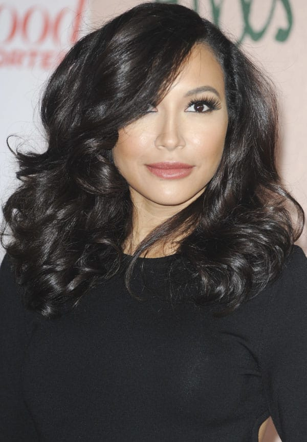 Naya Rivera at The Hollywood Reporter's Women in Entertainment Breakfast at the Beverly Hills Hotel in Los Angeles on December 11, 2013