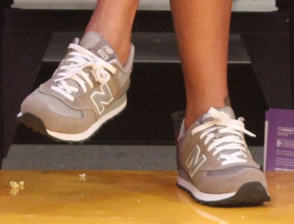 Rihanna's trendy New Balance sneakers