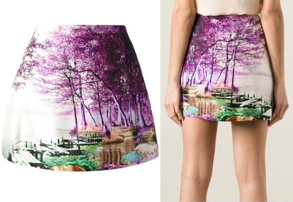 Mary Katrantzou Printed Skirt