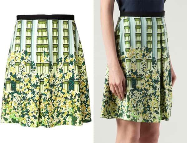 Peter Pilotto City Print Skirt