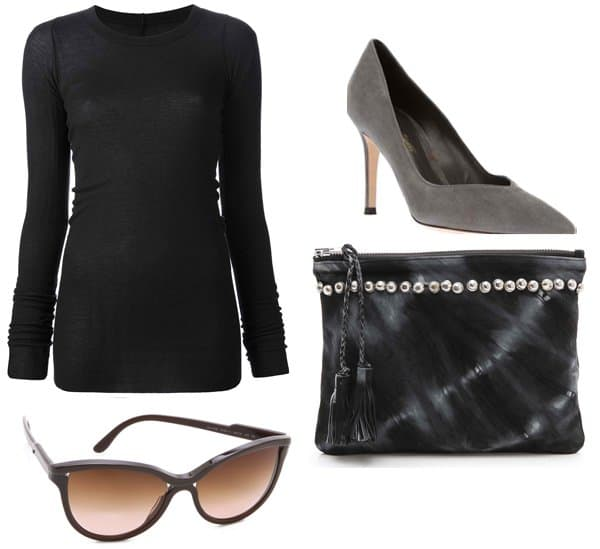 Ali Larter inspired outfit