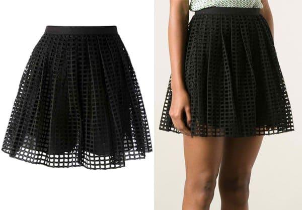 Carven Netted Skirt