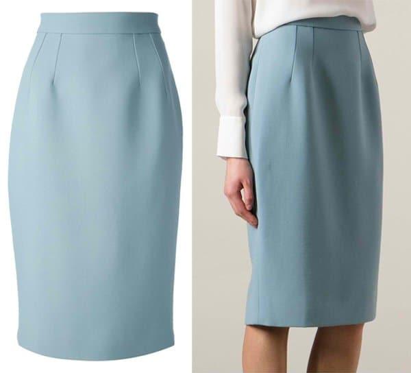 Dolce & Gabbana Knee Length Pencil Skirt