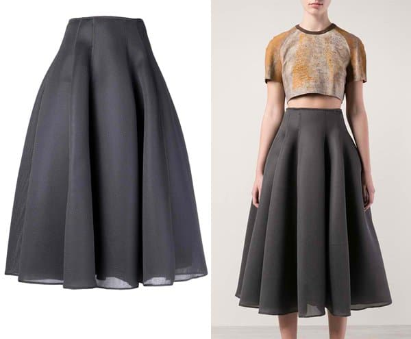 Dominic Louis Mesh Ball Skirt