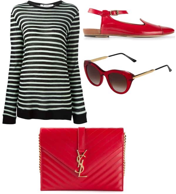 Emmy Rossum inspired outfit