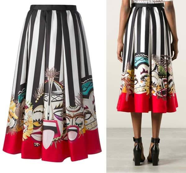 DSQUARED2 Printed Skirt