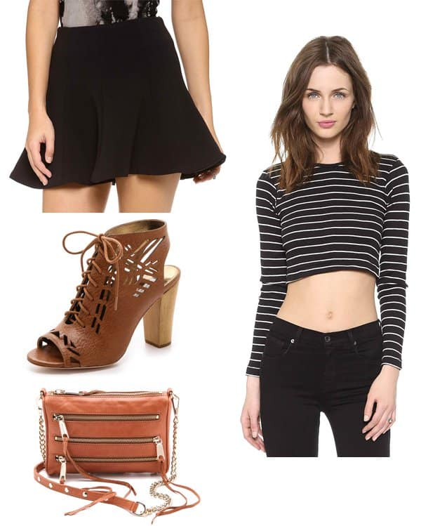 Diane Kruger inspired outfit