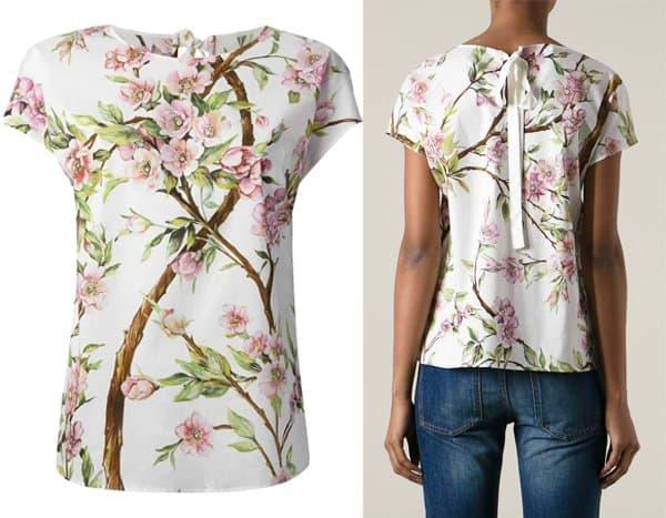 Dolce & Gabbana Floral Print Tshirt