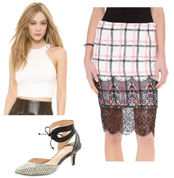 Emma Roberts inspired outfit