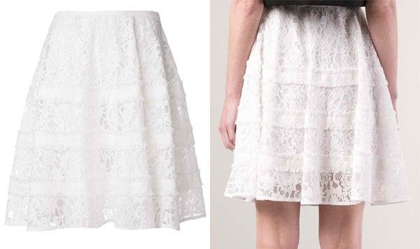 Goen J Lace Skirt