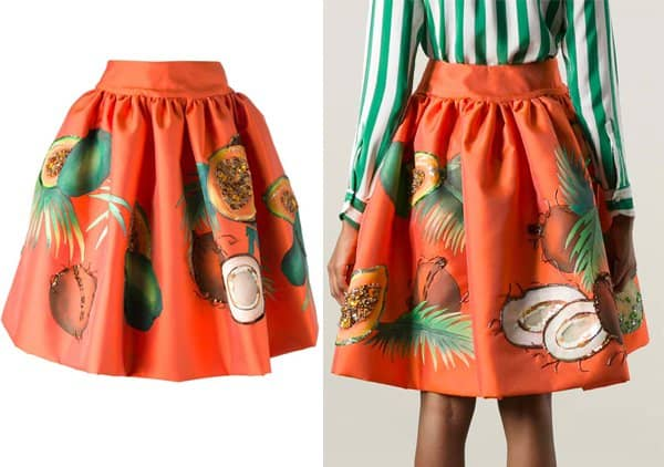Stella Jean Arnica Skirt