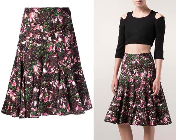 Givenchy Printed Skirt