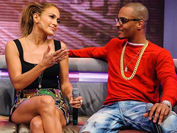 Jennifer Lopez paid a visit to '106 & Park' at BET studios in New York City to promote her new album on June 19, 2014