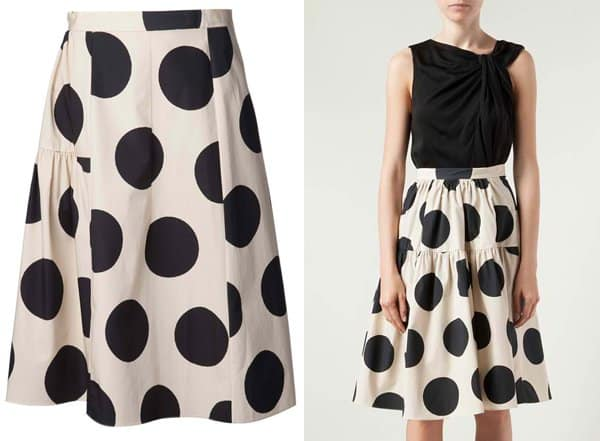 Marni Polka Dot Skirt