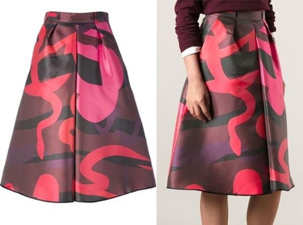 Juan Vidal Paris Aline Skirt