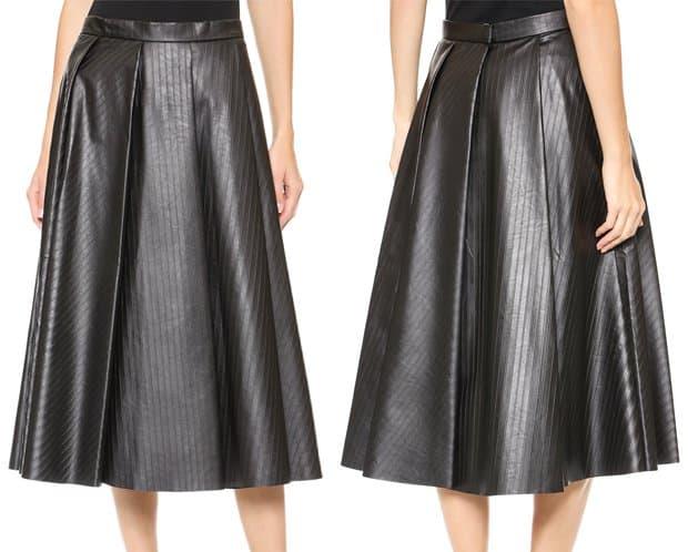JW Anderson Ten Pleat Skirt
