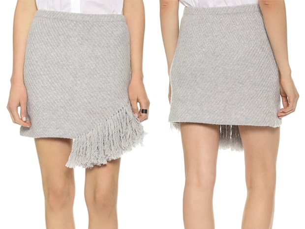 Thakoon Addition Fringe Skirt