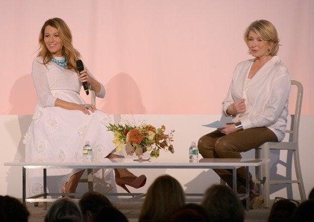 Blake Lively and Martha Stewart