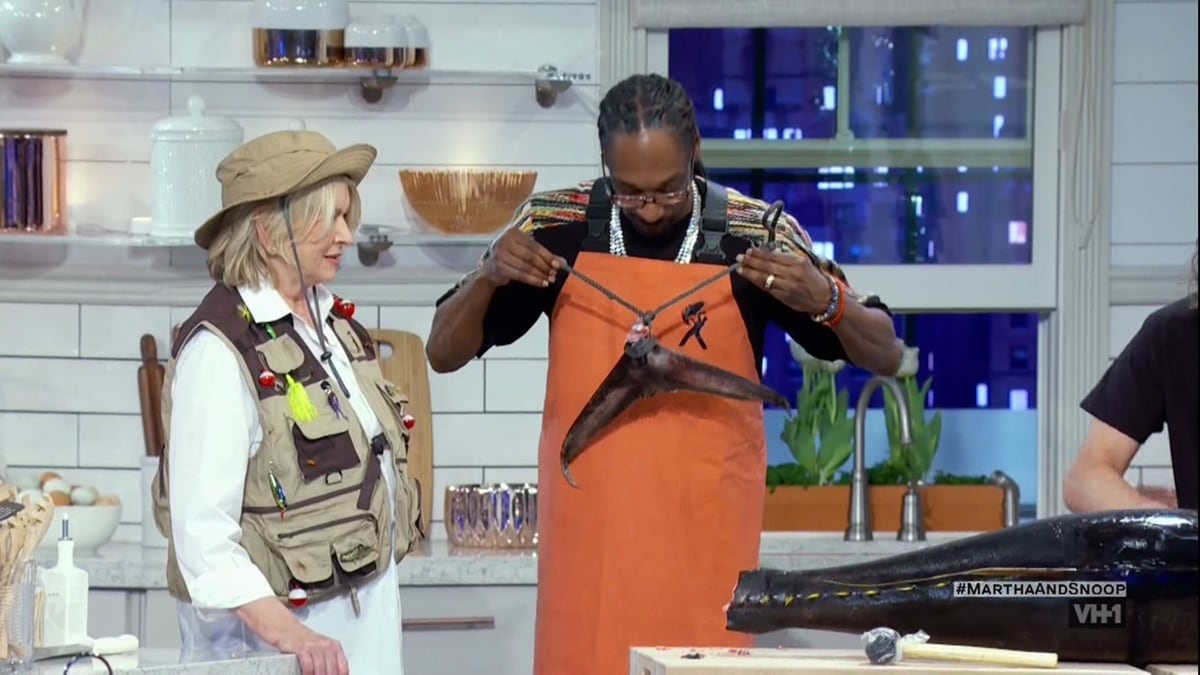 """Martha Stewart and Snoop Dogg have pointed out they make quite a """"weird couple"""""""