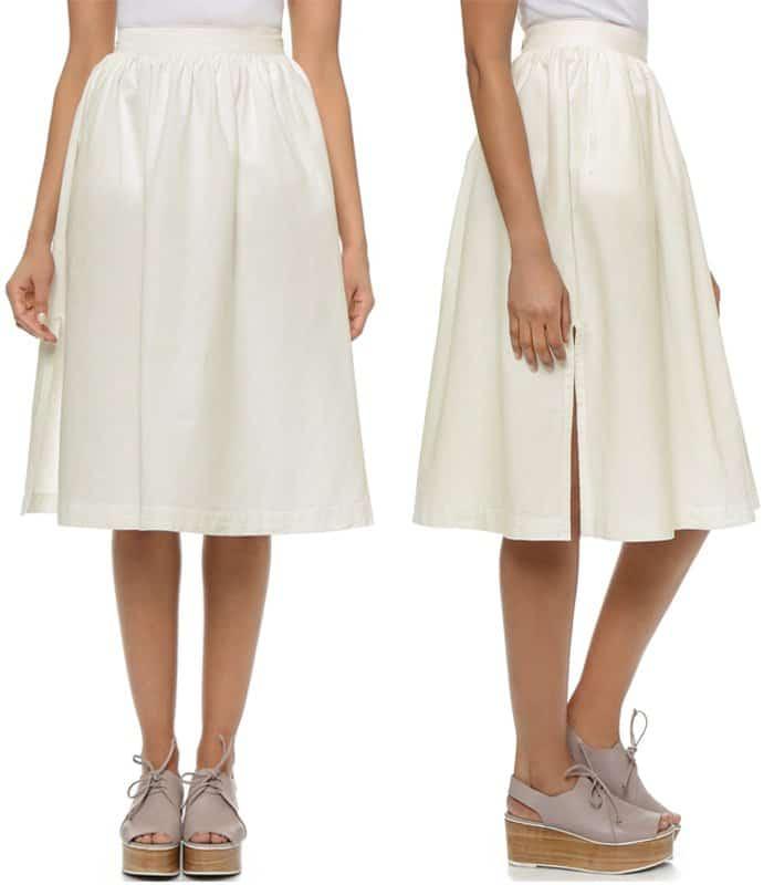 3x1 WS High Rise Skirt
