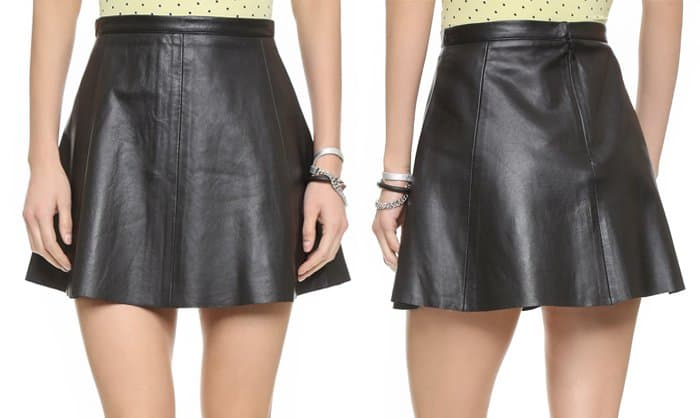 Love Leather Legs Legs Legs Skirt