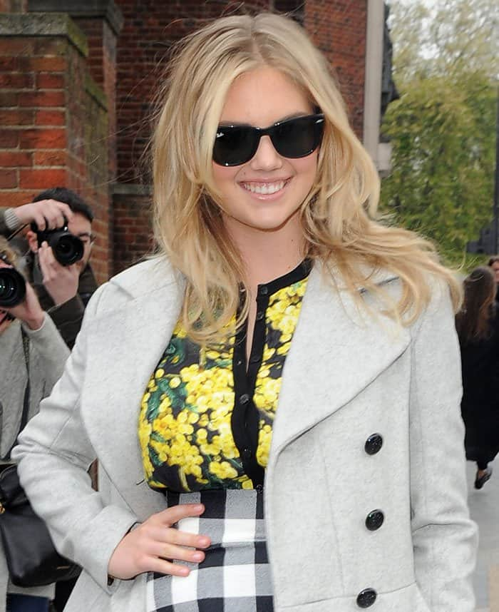 Kate Upton at the Vogue Festival 2015 in London on April 26, 2015