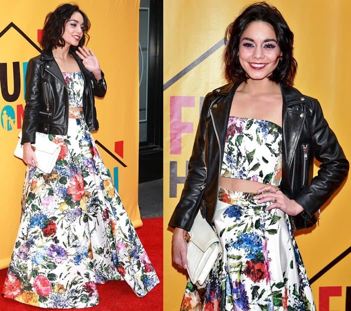 Vanessa Hudgens at the opening night for Fun Home at the Circle in the Square Theatre in New York on April 19, 2015