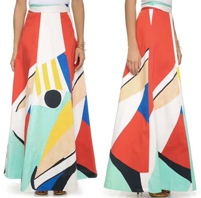 alice + olivia Bryn Full Skirt