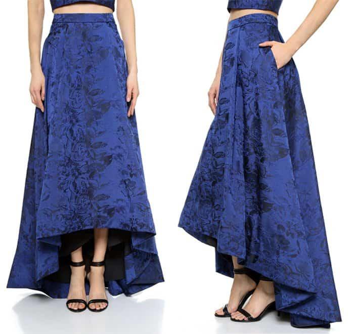 Alice + Olivia Cohe Asymmetrical Skirt