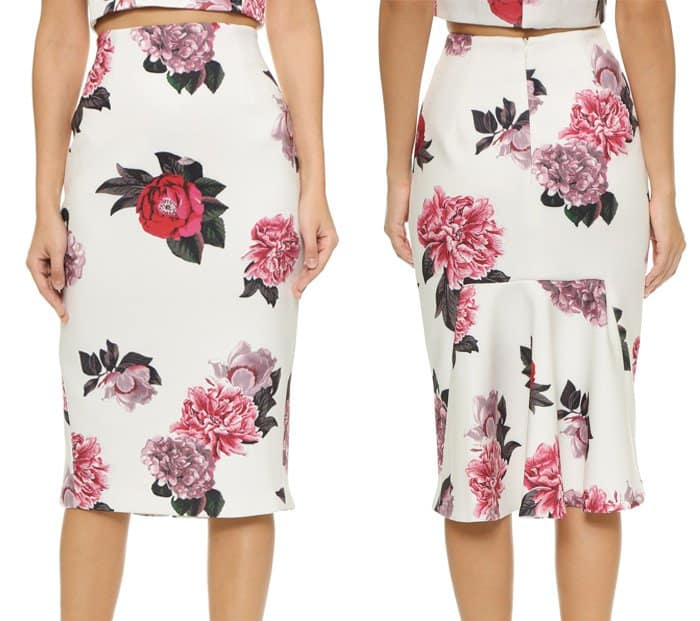 C Meo Collective Killing Vibe Skirt