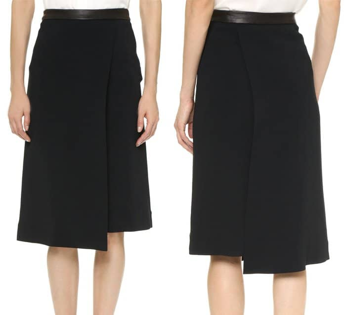 Narciso Rodriguez Shorts with Overlay