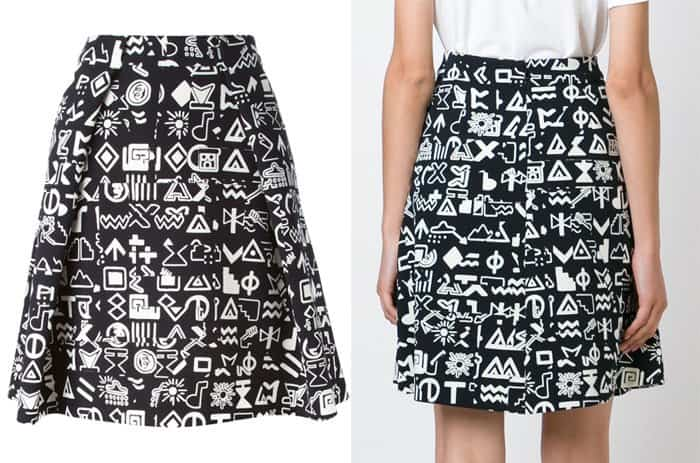 Kenzo Symbols Skirt