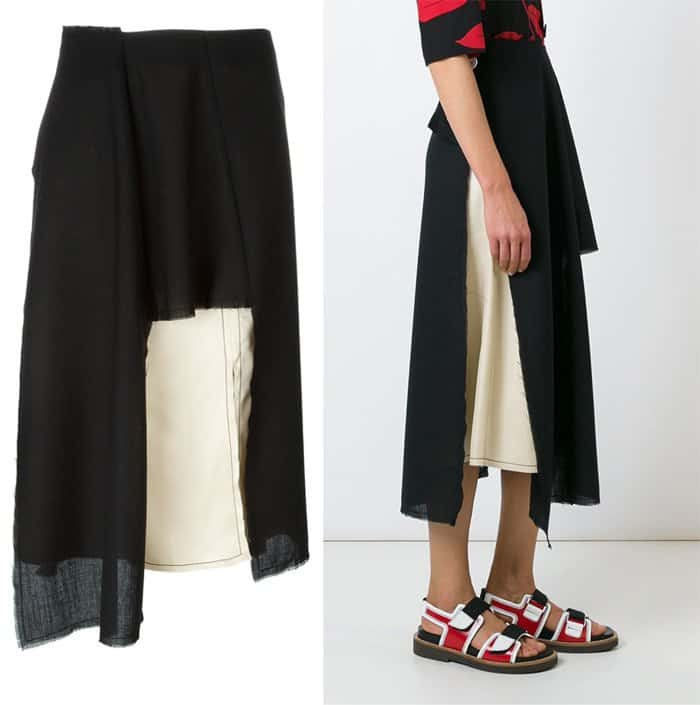 Marni Asymmetric Skirt