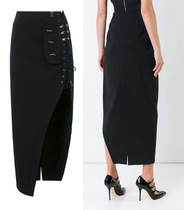 anthony-vaccarello-corset-laced-skirt