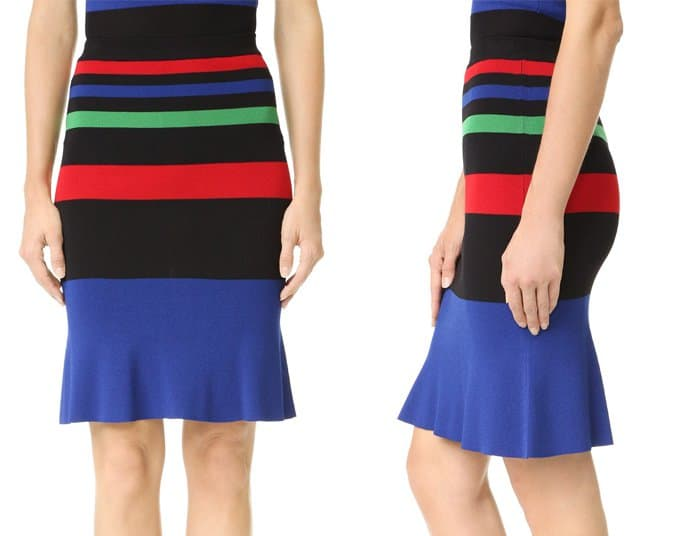 boutique-moschino-striped-skirt