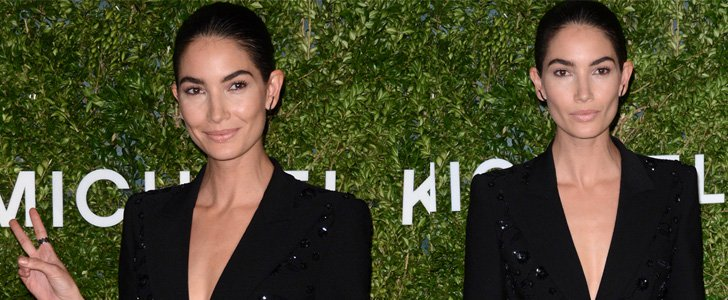 Lily Aldridge Dons Michael Kors for Awards Ceremony