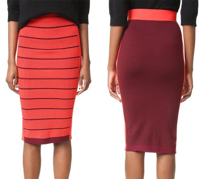 sonia-by-sonia-rykiel-double-layer-skirt